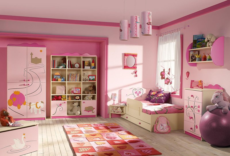 Inspirasi cat rumah untuk kamar tidur anak dari Jasa Cat ...